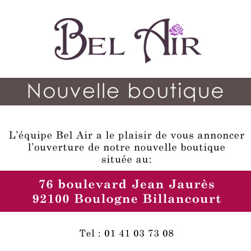 Nouvelle boutique bel air paris